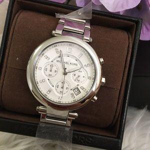 New Michael Kors Silver Watch